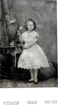 Mary Neal as a young girl