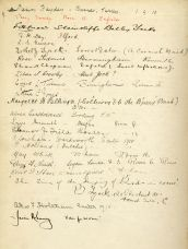 Espérance Book, Part 1 - signatures of the Espérance girls