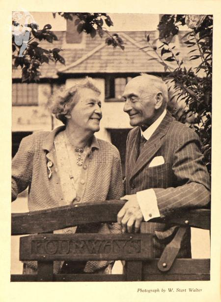 Fred and Emmeline Pethick-Lawrence at Fourways, Surrey