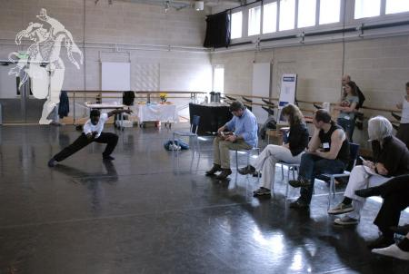 Photo from Mary Neal Research Day, Sadler's Wells April 2008
